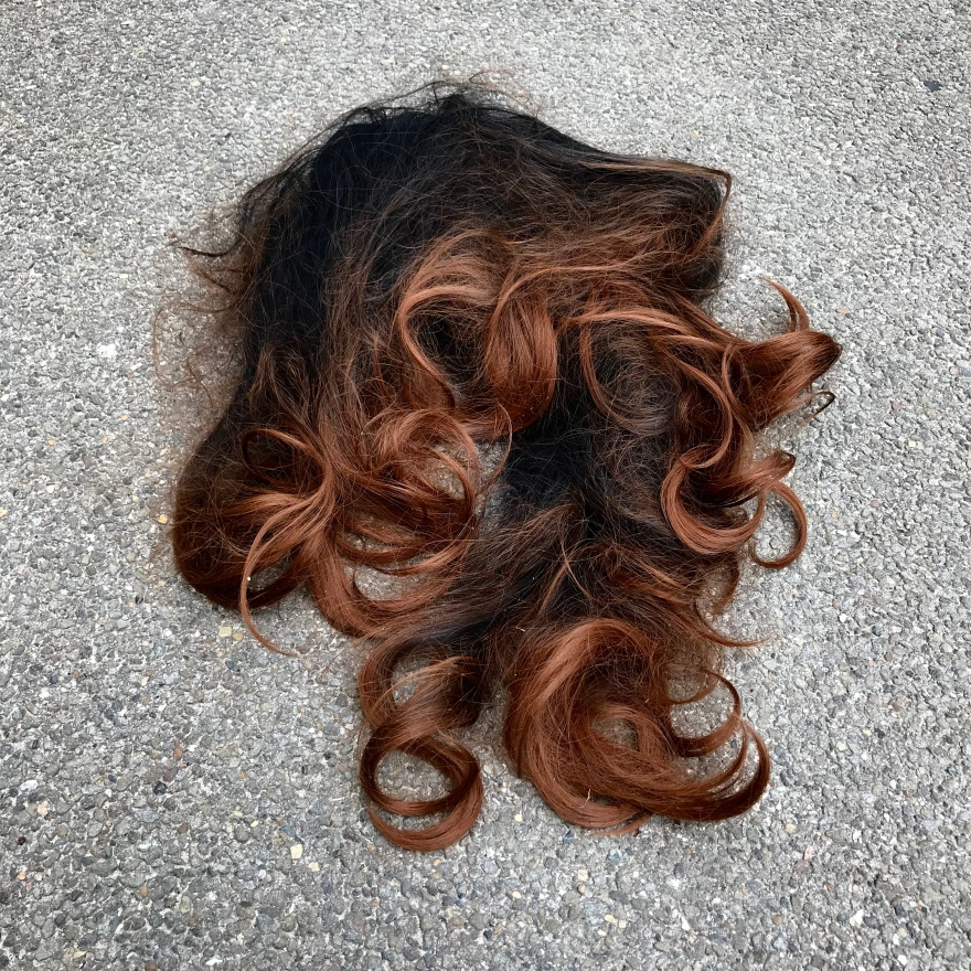 Wig, Someone's Rubbish, Brighton and Hove, 2018©chloejuno